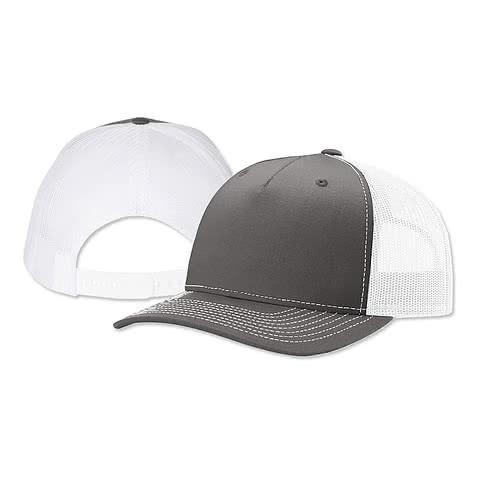 Richardson Five-Panel Snapback Trucker Hat