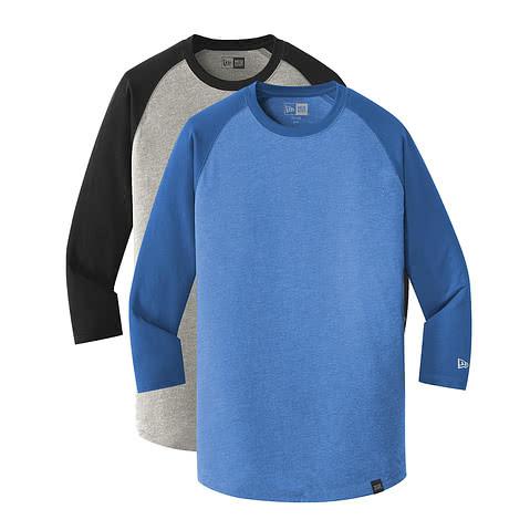 New Era Heritage Blend Raglan T-shirt