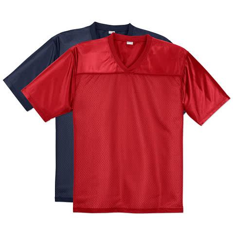Sport-Tek Replica Football Jersey