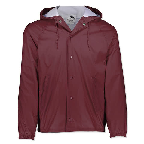 Augusta Hooded Coaches Jacket