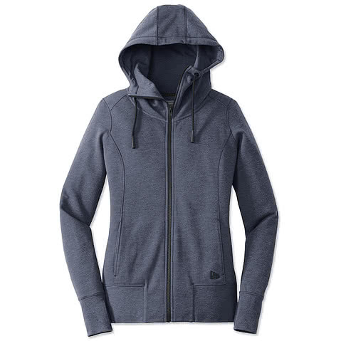 New Era Women's Tri-Blend Zip Hoodie