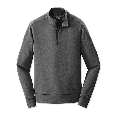 New Era Tri-Blend Quarter Zip Pullover
