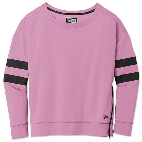 New Era Womens Varsity Tri-Blend Crewneck Sweatshirt