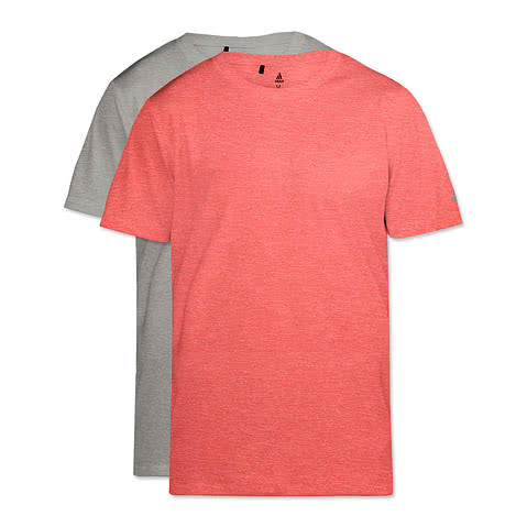 Adidas Heather 100% Recycled UPF 50 Performance Shirt