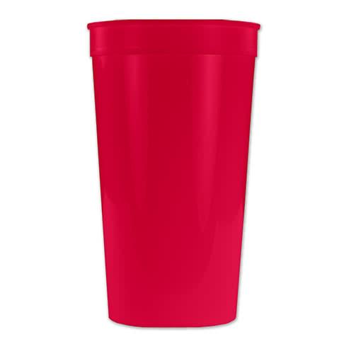32 oz. Plastic Stadium Cup