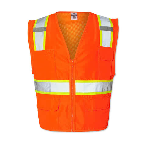 Kishigo Class 2 Contrast Safety Vest
