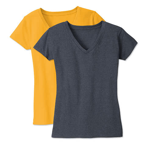 District Womens Re-Tee V-Neck T-shirt
