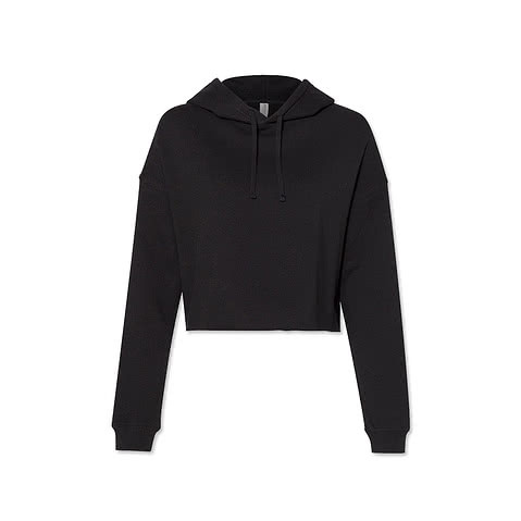 Independent Trading Womens Cropped Hoodie