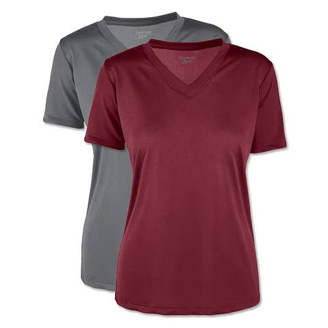 Reebok Womens V-Neck Performance Shirt