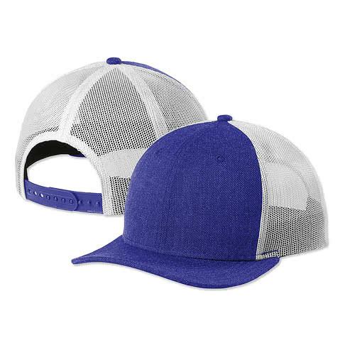 New Era Snapback Low Profile Trucker Hat