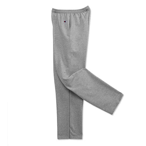 Champion Double Dry Eco Open Bottom Sweatpants