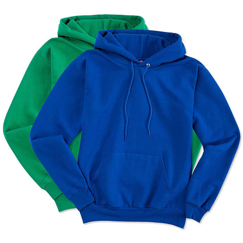 Embroidered Hanes EcoSmart 50/50 Pullover Hoodie